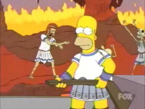 Homer Crosses the River Styx
