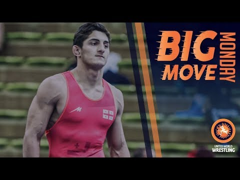 Big Move Monday -- G. KURTANIDZE (GEO) -- 2017 Junior European C'ships