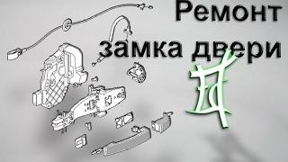 Olib tashlash (ta'mirlash) eshik Freelander 2 qulf