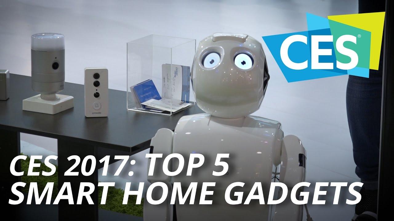 Smart Home Gadgets ces 2017: top 5 smart home gadgets - youtube