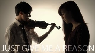 P!nk - Just Give Me A Reason ft. Nate Ruess - Jun Sung Ahn Violin Cover ft. Sarah Park