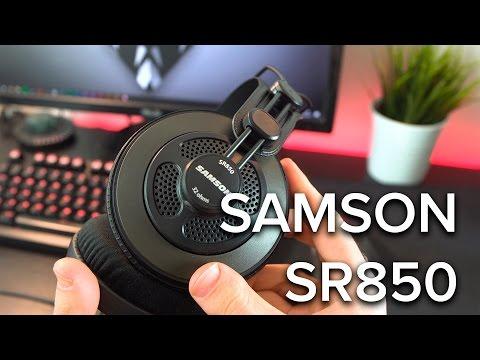 LE MIGLIORI CUFFIE STUDIO ECONOMICHE? SAMSON SR850