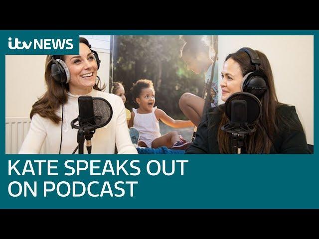Duchess of Cambridge opens up about motherhood | ITV News