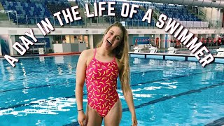 A DAY IN THE LIFE OF A HIGH SCHOOL ATHLETE // Swimming