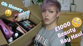 i Spent over £1000 on Beauty Bay . . .  HUGE New Makeup Haul | Unicorn Vanity