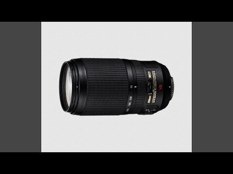 Nikkor 70-300 mm f/ 4.5-5.6 G ED IF VR
