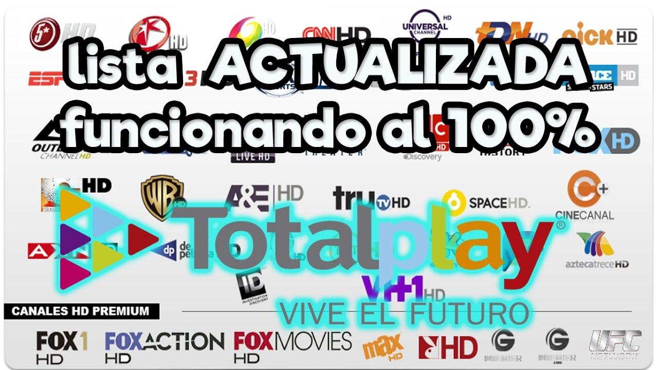 Resultado de imagen para canales tv total play