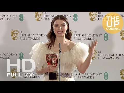 Rachel Weisz best supporting actress press conference at BAFTA for The Favourite
