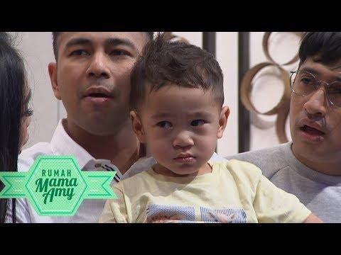 Kocak Banget! Rina Nose Dipukul Rafathar Terus Ngambek  - Rumah Mama Amy (11/10)