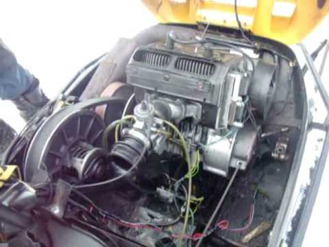 1990 engine diagram ski doo tundra modified youtube