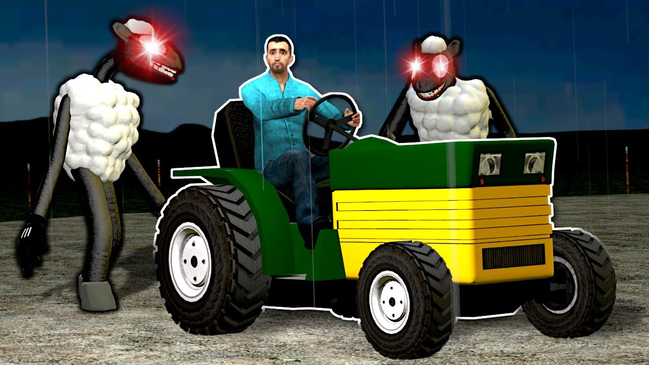 CARTOON SHEEP IS AFTER ME! - Garry's Mod Gameplay
