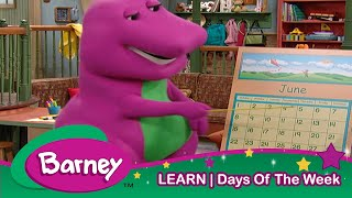Barney|Days of The WEEK!|Learning for Kids