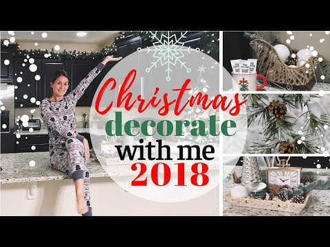 CHRISTMAS DECORATE WITH ME || HOLIDAY (2018) DECOR