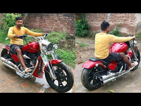 Only Royal Enfield in India | Royal Enfield modified | into harley