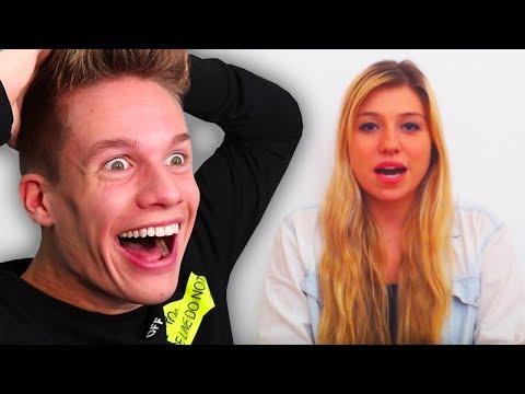 Meine Reaktion Auf 1. Videos Von YouTubern