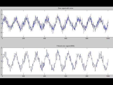 Butterworth filter design and Noise Cancellation - MATLAB tutorial | Uniformedia