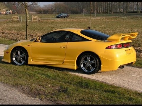 Mitsubishi Eclipse Tuning Body Kit Youtube