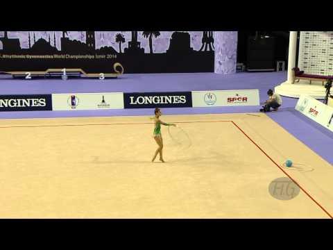 CZARNIECKA Anna (POL) - 2014 Rhythmic Worlds, Izmir (TUR) - Qualifications Hoop