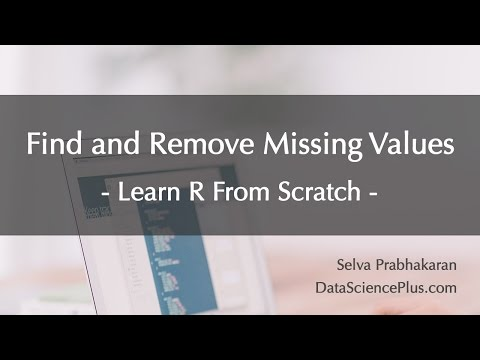 R Tutorial 10: More On Vectors + Find And Remove Missing Values