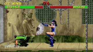 Mortal Kombat II (Arcade) Reptile (60FPS)