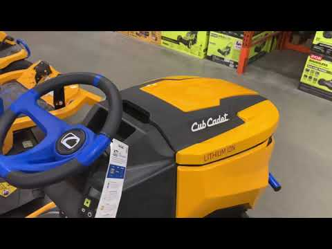 Cub Cadet Riding Mower At Home Depot Fayetteville Georgia Perfect Answer For Lawn