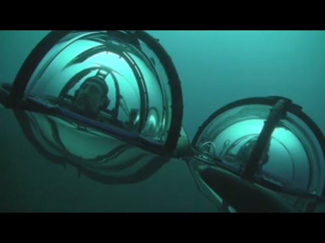 Javier Bardem se sumerge a 270 metros en las aguas de la Antártida