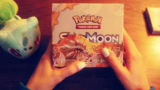 Relaxing Pokemon Sun and Moon Booster Box Opening for ASMR