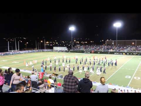 Morristown West High School Band vs Jefferson county half-time show 2013