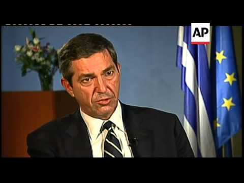 Interview with Greek Foreign Minister on debt, Turkey, Cyprus