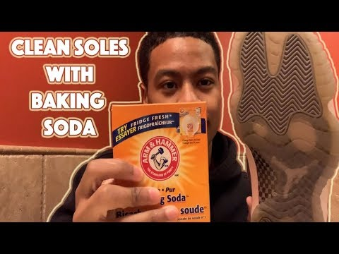 UNYELLOW Soles With Baking Soda ? Does It Work