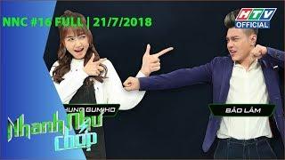 HTV NHANH NHƯ CHỚP | Vũ Hà, Kay Trần, Nhung Gumiho lập kỷ lục | NNC #16 | 21/7/2018