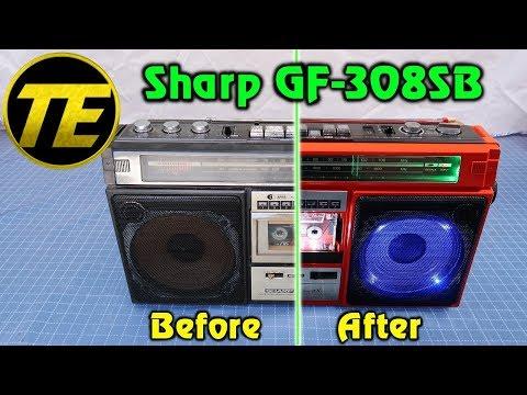 Sharp GF-308SB - Repaint and LED mod
