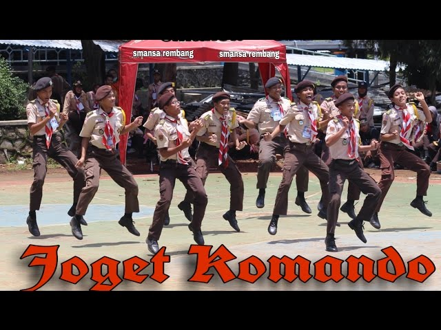 Joget Komando Pramuka SMA N 1 Rembang