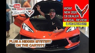 C8 2020 CORVETTE REVIEW & REVEAL - RICK CONTI @ COUGHLIN OHIO & A HIDDEN MYSTERY