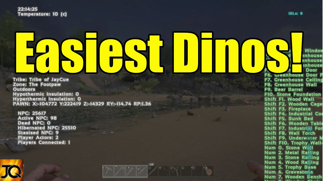 How to Use Xbox One Console Commands: Dinos - Ark: Survival Evolved