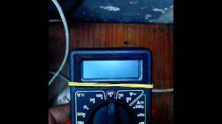 мультиметр как пользоваться и самодельный индикатор напряжения
