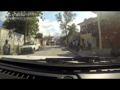 The Drive Through Port Au Prince