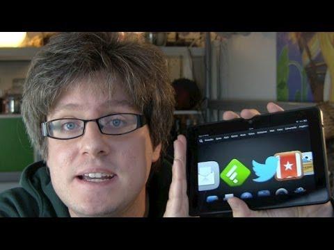 Amazon Kindle Fire HDX 7 Test Fazit nach 72 Stunden