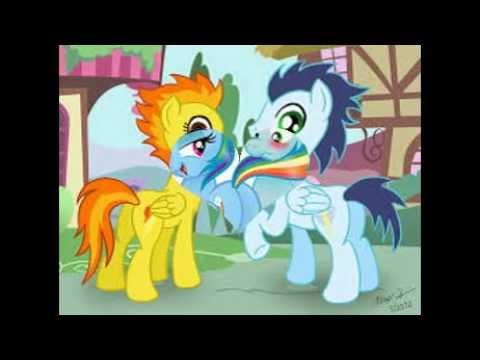 Mlp Soarin X Spitfire Love Youtube