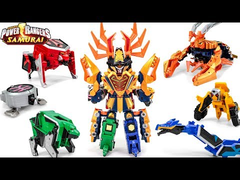PowerRangers Samurai Sentai Shinkenger DX DaiKaiShinkenOh Origami ShinkenOh DaiKaiOh Union Transform