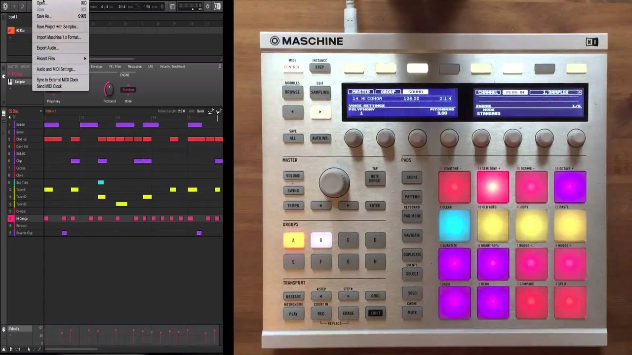 Planet 808 from Niche Audio - Sample Pack Review on Maschine #1