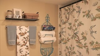 Decorating Our Home On A Budget | My Guest Bathroom(Expand For More Details ↓↓ Check out the other ladies participating His and Her Money- https://www.youtube.com/user/HisandHerMoney Kelly with House of ..., 2015-02-12T16:08:54.000Z)