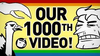 Drawfee's 1000th Video!