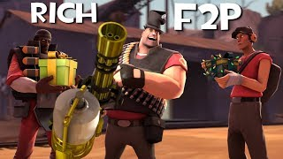 TF2 - The Rich F2P