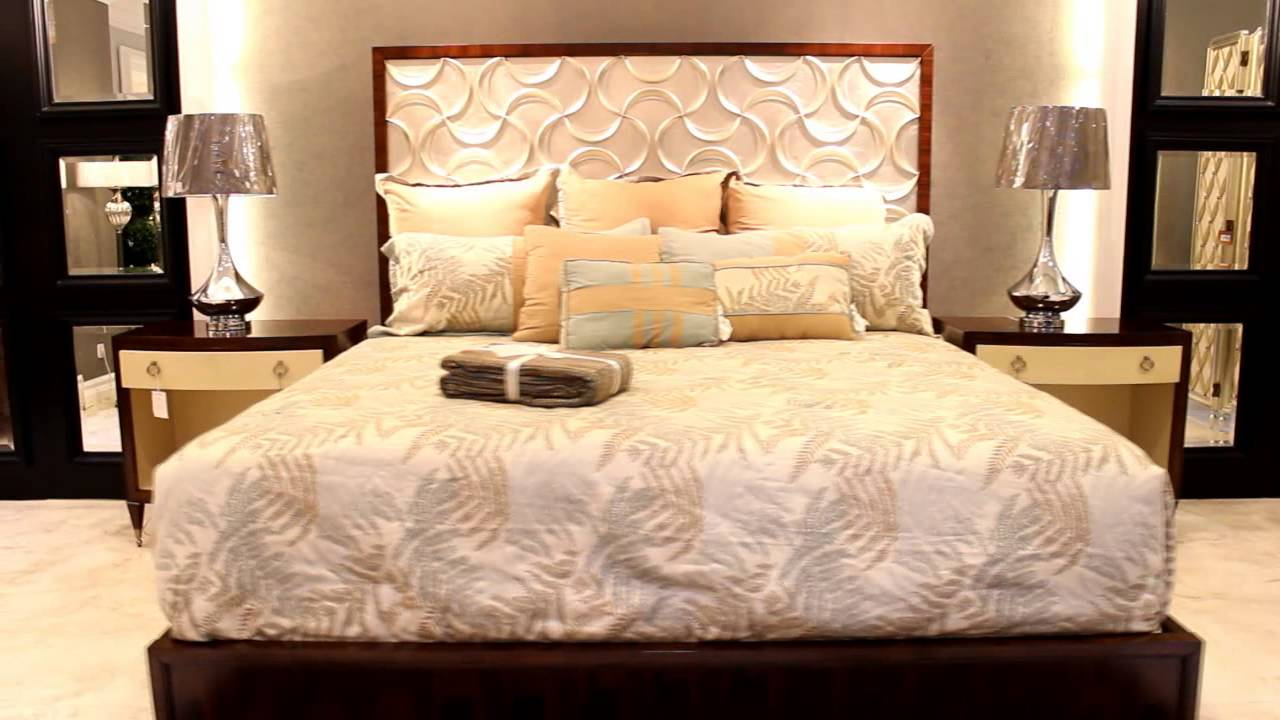 Malinda furniture gallery caracole showroom youtube for Gallery furniture