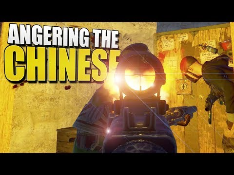 ANGERING The CHINESE! (Rust Solo Survival) #54