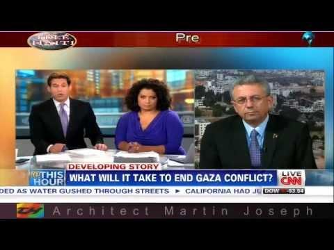 """MUSTAFA BARGHOUTI detect bias in news media  """" CNN """""""
