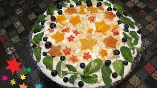 видео фруктовый торт спб