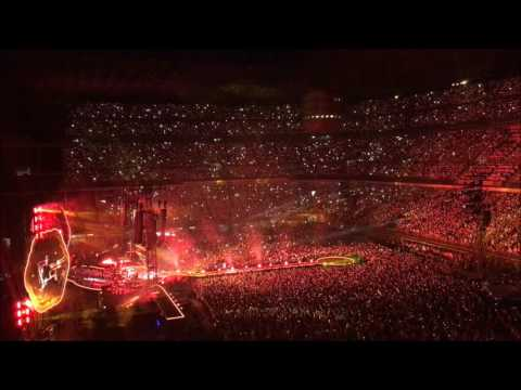 Coldplay in concerto a Milano, SanSiro 04072017