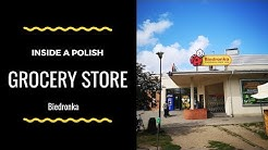 Inside a Polish Grocery store